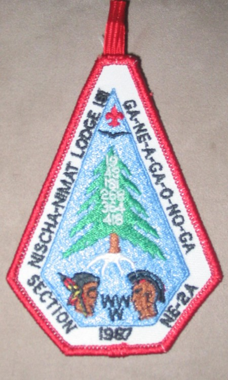 Section NE-2A 1987 Pocket Patch