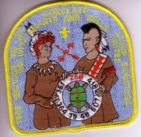 1989 Section NE-2A Pocket Patch