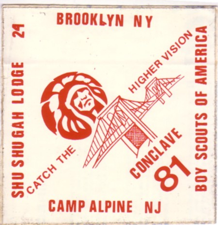 #24 1981 Conclave Decal