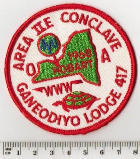 Area 2-E 1968 Pocket Patch