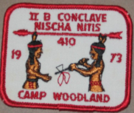 Section NE-2B 1973 Pocket Patch