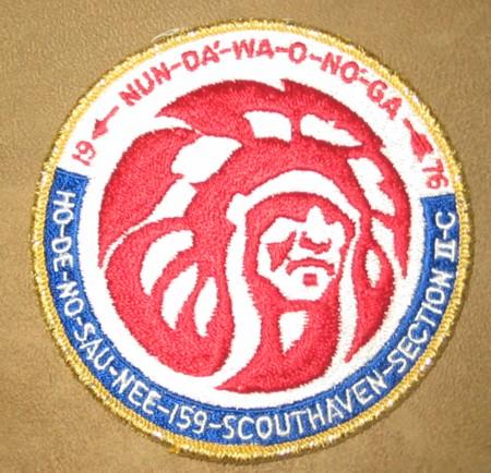 Section NE-2C 1976 Pocket Patch