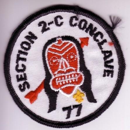 1977 Section NE-2C Pocket Patch