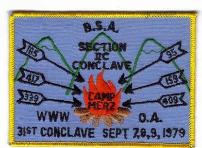 Section NE-2C 1979 Pocket Patch