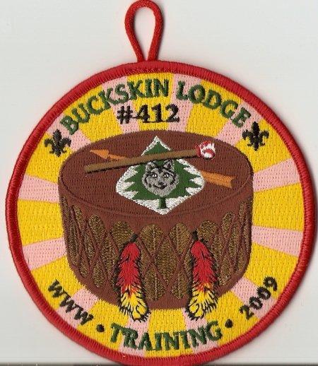 Buckskin Lodge #412 2009 Training - Participant Award