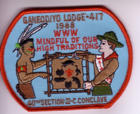 Section NE-2C 1988 Pocket Patch