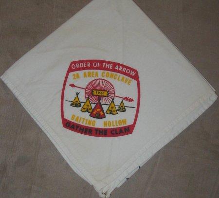 1961 Area 2-A Neckerchief