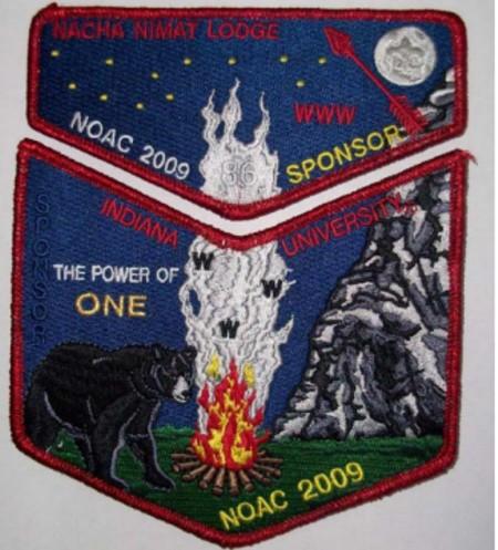 Nacha Nimat Lodge #86 2009 NOAC S33 X16