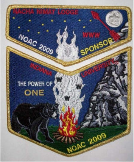 Nacha Nimat Lodge #86 2009 NOAC Fundraiser S34 X17