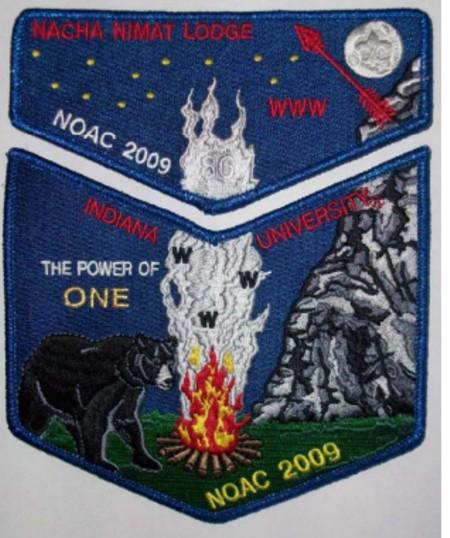Nacha Nimat Lodge #86 2009 NOAC Delegate S35 X18