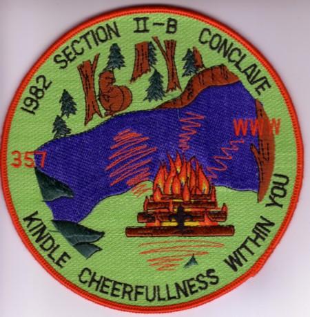 Section NE-2B 1982 Jacket Patch