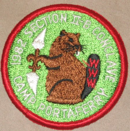 Section NE-2B 1982 Pocket Patch