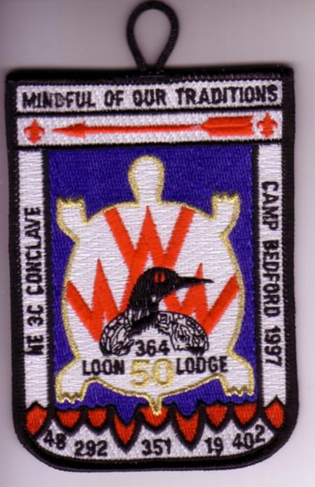 Section NE-3C 1997 Pocket Patch