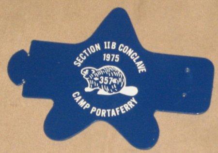 1975 Section NE-2B Neckerchief Slide