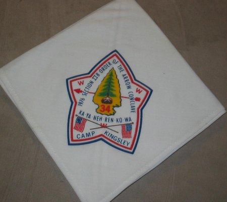 Section NE-2B 1976 Neckerchief