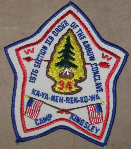 Section NE-2B 1976 Pocket Patch