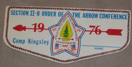 1976 Section NE-2B Nametag