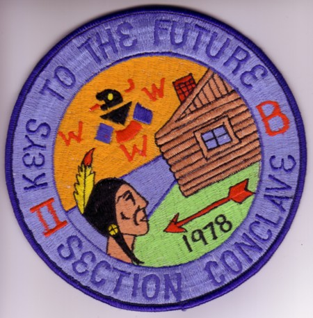 Sedction NE-2B 1978 Jacket Patch