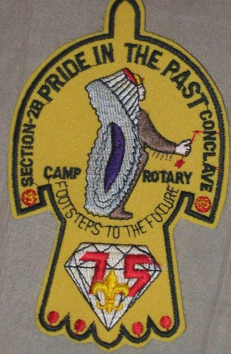 Section NE-2B 1985 Pocket Patch