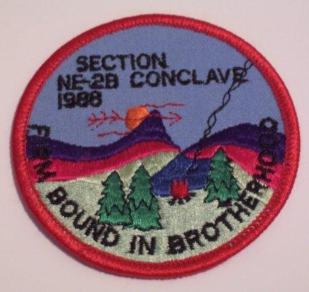 Section NE-2B 1988 Pocket Patch