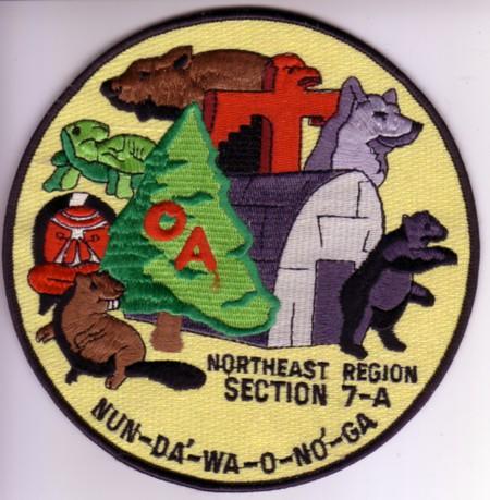 Section NE-7A JAcket Patch circa 1989-1990