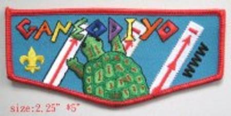Ganeodiyo Lodge #417 S27 - Regular Issue Flap