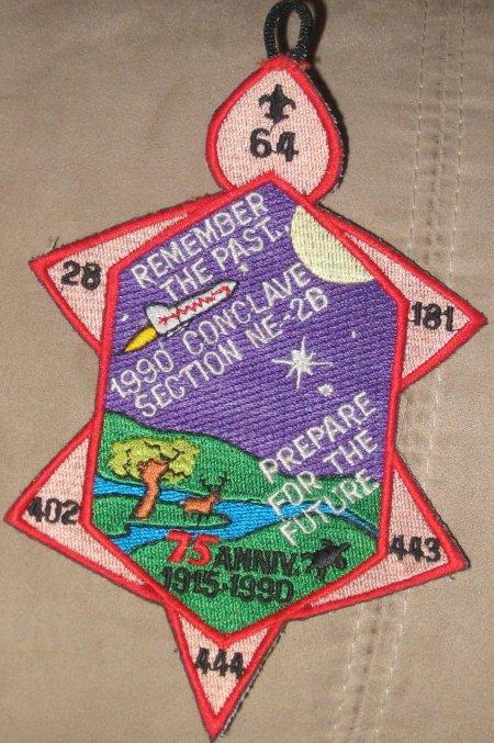 Section NE-2B 1990 Pocket Patch