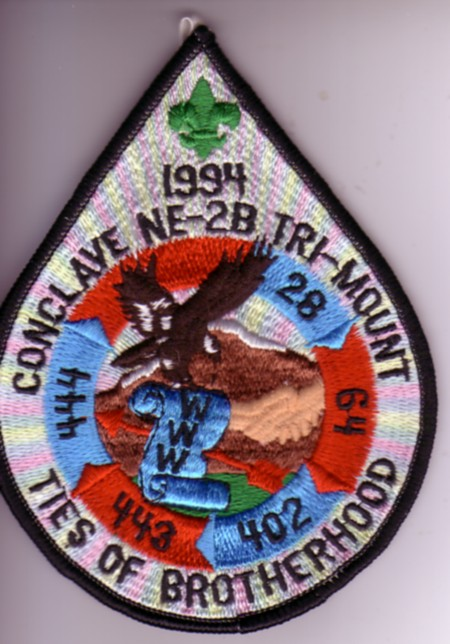 1994 Section NE-2B Pocket Patch