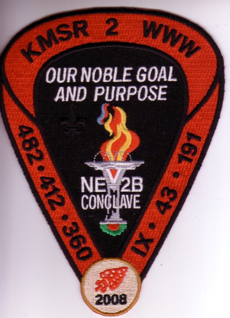 Section NE-2B 2008 Jacket Patch