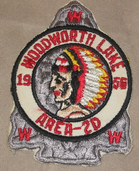 Area 2-D 1956 Pocket Patch