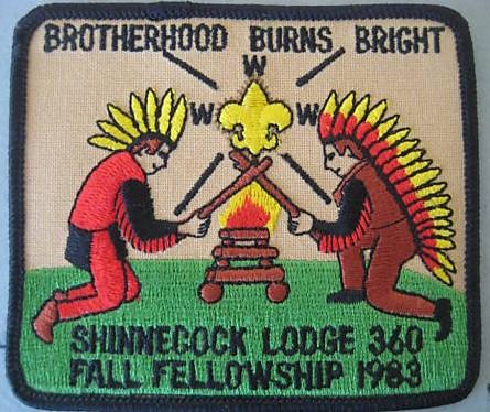 Shinnecock Lodge #360 1988 Fall Fellowship eX1988-8