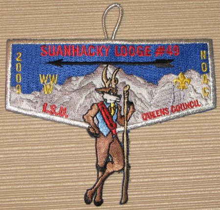 Suanhacky Lodge #49 S63 2009 NOAC