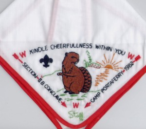 1982 Section NE-2B Staff Neckerchief