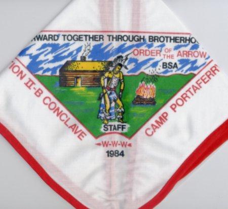1984 Section NE-2B Staff Neckerchief