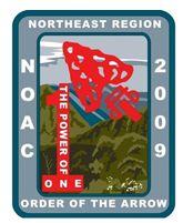 2009 Northest Region NOAC Patch
