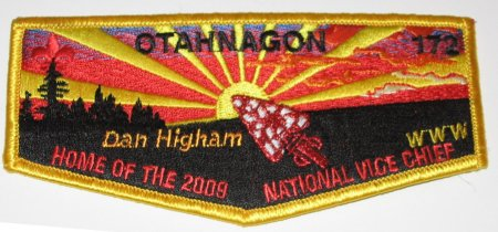 Otahnagon Lodge #172 S24 Home of the 2009 National Vice Chief