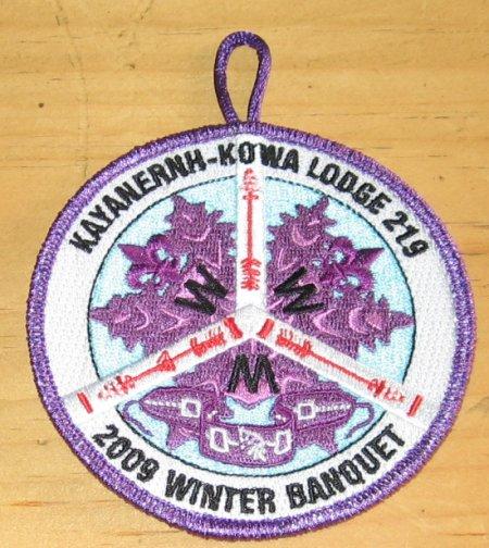Kayanernh-Kowa Lodge #219 2009 Winter Banquet eR2009-1