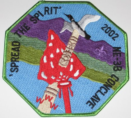 2002 Section NE-3B Jacket Patch