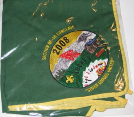 Section NE-3B 2008 Neckerchief