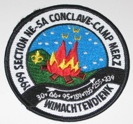 Section NE-5A1999 Pocket Patch