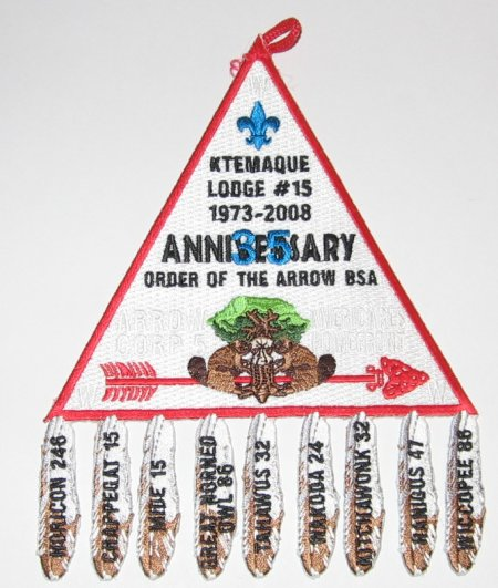 Ktemaque Lodge #15 35th Anniversary X12
