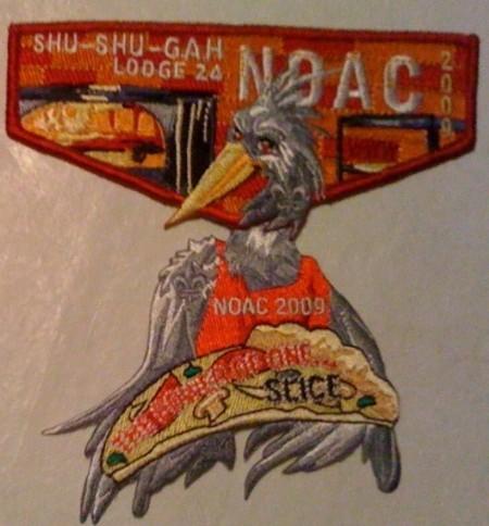 Shu Shu Gah Lodge #24 2009 NOAC Delegate Set