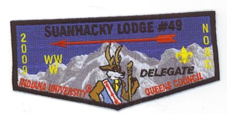 Suanhacky Lodge #409 2009 NOAC Trader S64