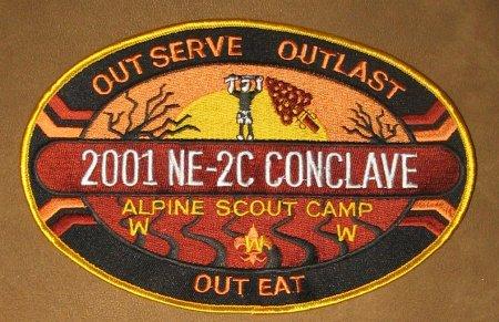 Section NE-2C 2001 Jacket Patch