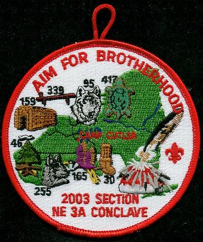 Section NE-3A 2003 Pocket Patch