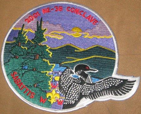 Section NE-3B 2001 Jacket Patch