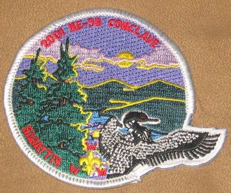 Section NE-3B 2001 Pocket Patch