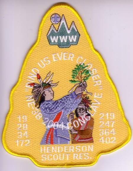 Section NE-3B 2004 Jacket Patch