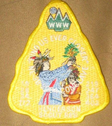 Section NE-3B 2004 Pocket Patch
