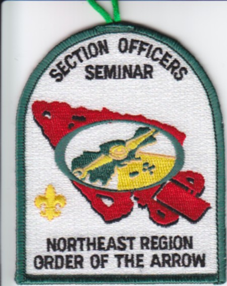 1999 Northeast Region Section Officers Seminar Patch